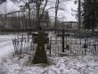 Haljala kirikuaed, reg nr 5761. Vaade läänest. Foto: Anne Kaldam, 20.02.2008.