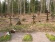 Kalmistu edelapoolne osa. Foto Kersti Siim, 09.04.2014.