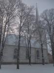 Rakvere kirik, reg. nr. 15732. Vaade põhjast. Foto: M.Abel, kp. 16.01.2014