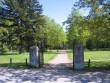 Sõjaväekalmistu peasissepääs Nurme tänaval. Foto Egle Tamm, 16.05.2014.