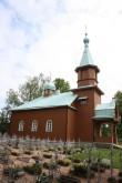 Kuremäe kloostri kalmistu kirik, 19.saj. Vaade loodest. Foto: Jaan Vali 03.06.2014.a.