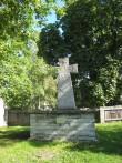 Blasius Hochgrewe monument, 1560 (paas). Üldvaade seisundist. Foto: V. Leitsar, 07.09.2011.