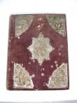 Uus Testament. Evangeelium. Tartu, 1903; Moskva, 1852 (trükis, sametköide, vask, hõbetatud) Foto: S.Simson 20.08.2006