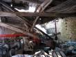 Arkna mõisa sepikoda-vankrikuur :sissevarisenud varikatus ,vaade varisenud konstruktsioonidele  Autor Anne Kaldam  Kuupäev  01.04.2008