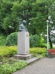 Friedrich Reinhold Kreutzwaldi monument,vaade idast.  foto: Anne Kaldam 26.06.2014