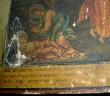 "Ikoon ""Prohvet Eelija"" , 19.saj. II pool (tempera, puit). Detail. Foto: S.Simson 20.08.2006"