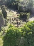 Vaade kalmistule idast. Foto Silja Konsa 26.06.2014.