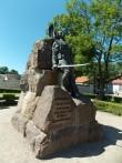 Vabadussõja ausammas Kuressaares. Foto: Rita Peirumaa, 12.06.2013