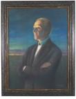 """Maal """"Fr. R. Kreutzwaldi"""" portree A. Laikmaa (pastell) Foto: J. Heinla 2002"""