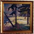 Maal «Hara rand», R. Nyman, 1935 (õli, lõuend) Foto: J.Heinla 2002