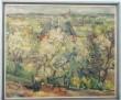 Maal «Tartu vaade õitsva aiaga». A. Johani, 1936 (õli, lõuend) Foto: J.Heinla 2002