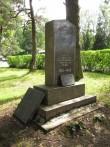 II maailmasõjas hukkunute ühishaud. Foto Kersti Siim, 14.07.2014.