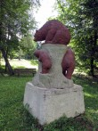 Skulptuurigrupp «Karud». Foto Kersti Siim, 14.07.2014.