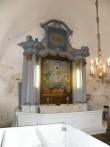 Altar. 1783 (puit, õli) Foto: Ü.Jukk, 18.04.2008