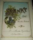 Piibel. New York, 1890 (trükis, nahkköide, metallpanused). Kirje. Foto: S.Simson 02.10.2005