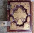 Piibel. New York, 1890 (trükis, nahkköide, metallpanused). Tagakaas. Foto: S.Simson 02.10.2005
