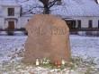 Vaade mälestusmärgi esiküljele Autor A.Kivi  Kuupäev  13.02.2008