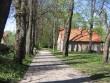 Rakvere mõisa park : 15723. vaade parki-läänepoolne allee, paremal tennisemaja ja vasakul Näituse tn  Autor Anne Kaldam  Kuupäev  06.05.2008