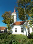 Laurentiuse kirik S-poolt vaadatuna.  Foto: Rita Peirumaa, 30.09.2014.