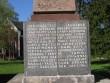 Vaade Halliste mälestussamba nimetahvlile  Autor Anne Kivi  Kuupäev  05.06.2008