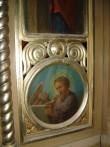 """Ikonostaasi kuninglikud väravad. Ikoon """"Evangelist Luukas"""". Foto: S.Simson 26.10.2006"""