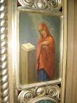 """Ikonostaasi kuninglikud väravad. Ikoon """"Neitsi Maarja"""". Foto: S.Simson 26.10.2006"""