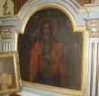 Ikoon ikonostaasilt. Apostel Johannes. Foto: S.Simson 26.10.2006