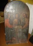 Ikoon ikonostaasilt. Kolmainsus (Kolm inglit). Foto: S.Simson 26.10.2006