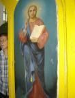 """Ikoon """"Kristus Kõigevalitseja"""" Foto: S.Simson 12.08.2006"""