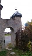 Tõrma kalmistu värav, vaade idast. Foto: M.Abel, kp 16.10.14