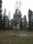 Skulptuur «Kalevipoeg». Foto: V. Leitsar 14.11.2014
