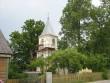 Karksi-Nuia õigeusu kirik, krohviparandused tehtud. Foto: Anne Kivi, 20.06.2008