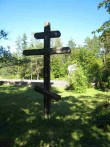 Iide küla, Torgu kalmistu rist. Foto: R. Peirumaa. Kuupäev  22.05.2007