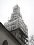 Torma kiriku torni restaureerimistööd Foto: Sille Raidvere Aeg: 05.11.2014