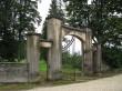 Torma kalmistu väravaehitis kalmistu kirdenurgas Foto: Sille Raidvere  Aeg: 26.08.2014