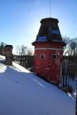 Porkuni mõisa peahoone, vaade lõunatornile. Foto: M.Abel, kp 11.02.15