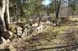 Kalmistu, vaade piirdemüürile läänest. Foto: M.Abel, kp 16.03.15
