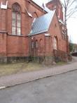 Veski 3 katoliku kiriku läänekülg. Foto Egle Tamm, 26.03.2015.