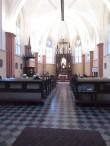 Veski 3 katoliku kiriku sisevaade. Foto Egle Tamm, 26.03.2015.