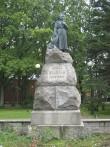 L. Koidula monument. Foto: Liina Hansen 17.09.2008