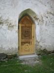 Põhjaküljes olev restaureeritud uks  Autor Kalli Pets  Kuupäev  24.09.2008