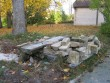 Inju mõisa pargi purskkaev :15979,vaade detailidele, millest tulevad pingid.  Autor Anne Kaldam  Kuupäev  09.10.2008