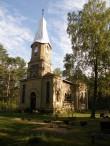 Puski õigeusu kiriku varemed, vaade lõunast  Autor K.Koit. Kuupäev 24.09.15