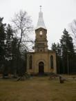 Puski õigeusu kiriku varemed, vaade edelast Autor K.Koit Kuupäev aprill 2015