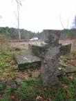 Püha vana kalmistu kivirist. Foto: Rita Peirumaa. Kuupäev  29.10.2008