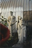 Skulptuurid enne konserveerimist 1998.a. Foto: V. Leitsar, 3.10.1996