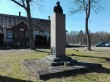 Anton Hansen-Tammsaare monument Järva-Madisel. Foto: K. Klandorf 04.04.2016.