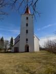 Reigi kirik, vaade idast  Autor K.Koit Kuupäev  11.04.2016