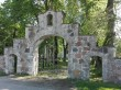 Ambla kirikuaia värav kalmistu põhjaküljel. Foto: K. Klandorf 02.06.2016.