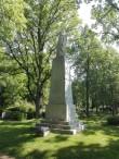 Vabadussõja mälestussammas Ambla kalmistul. Foto: K. Klandorf 02.06.2016.